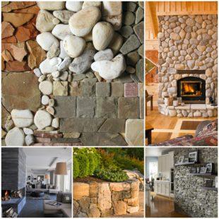 Природный камень в интерьере и строительстве