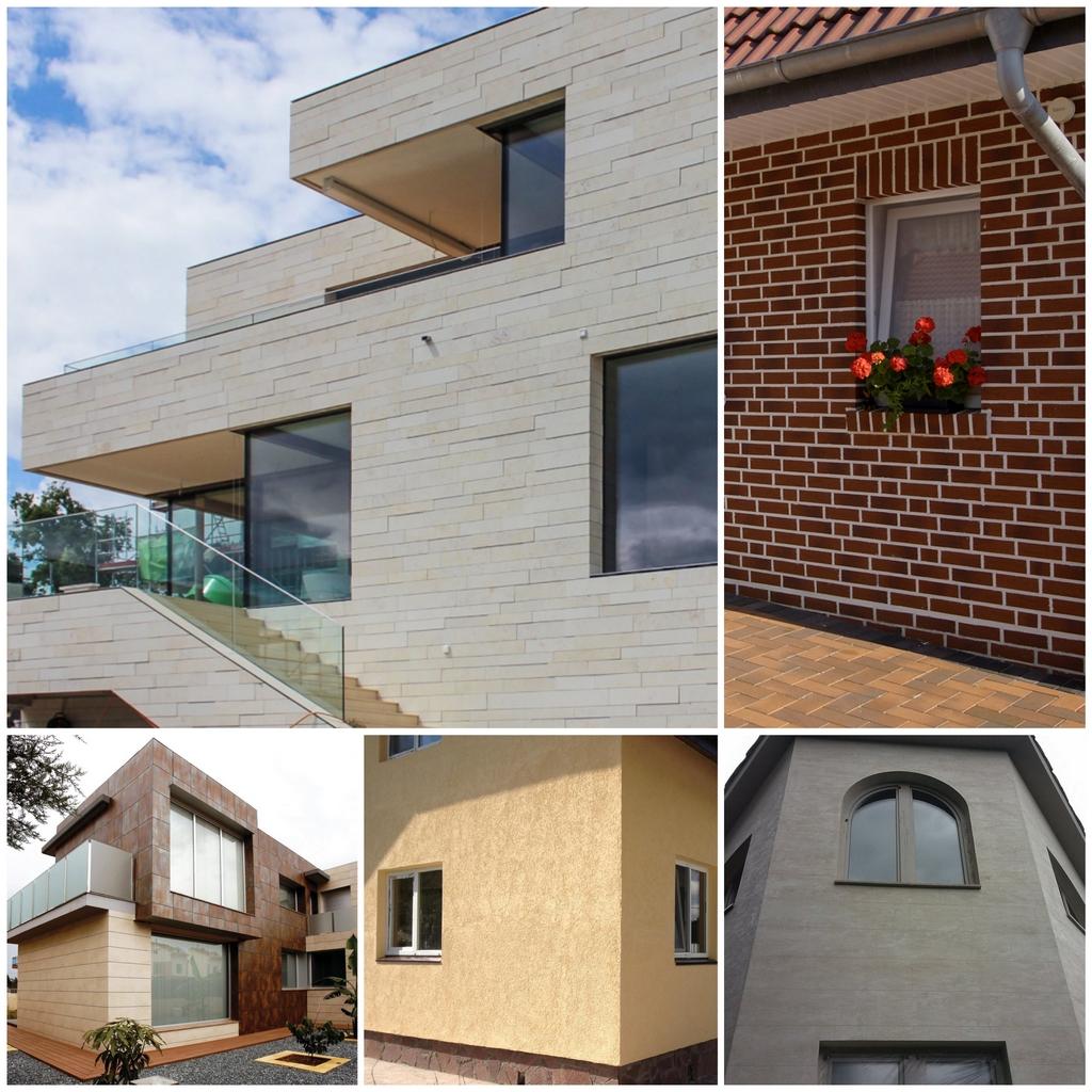 Облицовка фасада дома какой материал лучше выбрать - гид потребителя