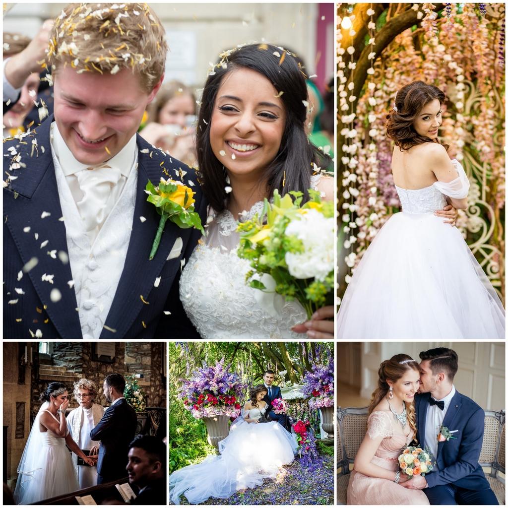 Популярные варианты свадебной фотосессии