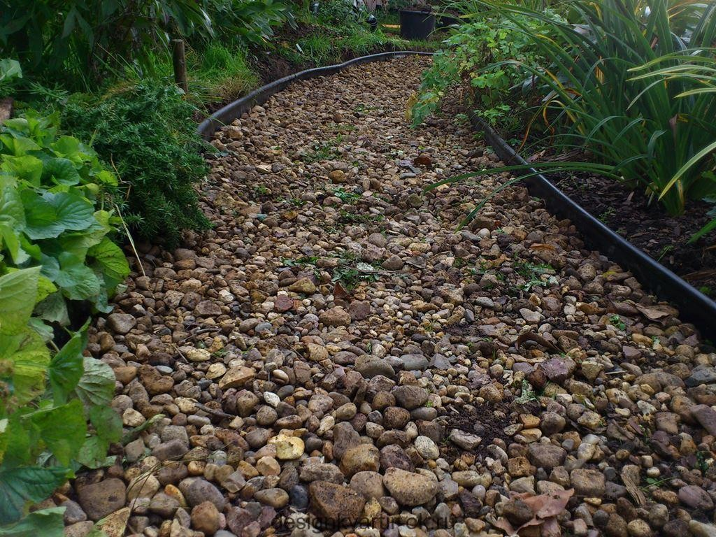 Тропинки из гравия в вашем саду