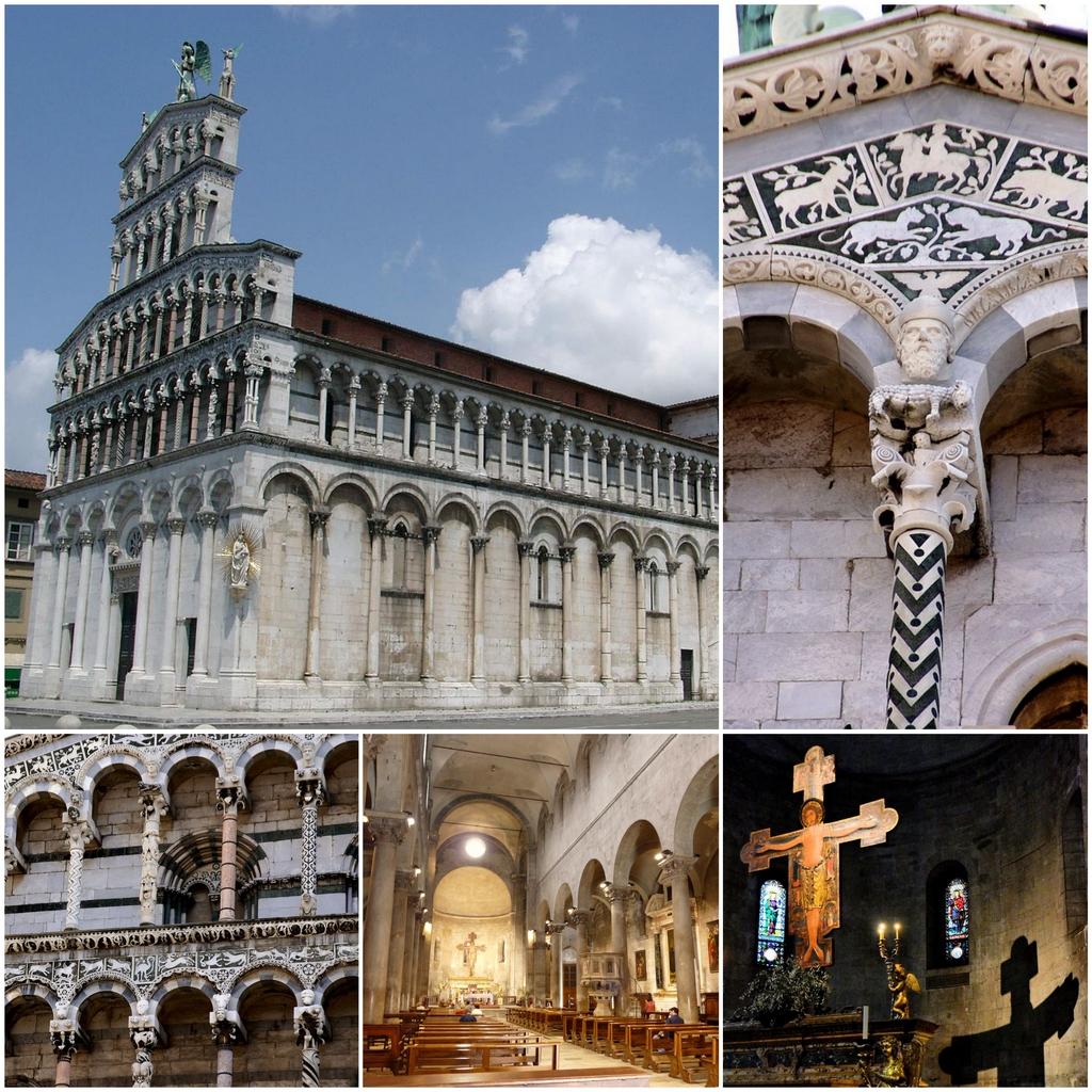 Достопримечательность итальянского города Лукка: Церковь Сан-Микеле