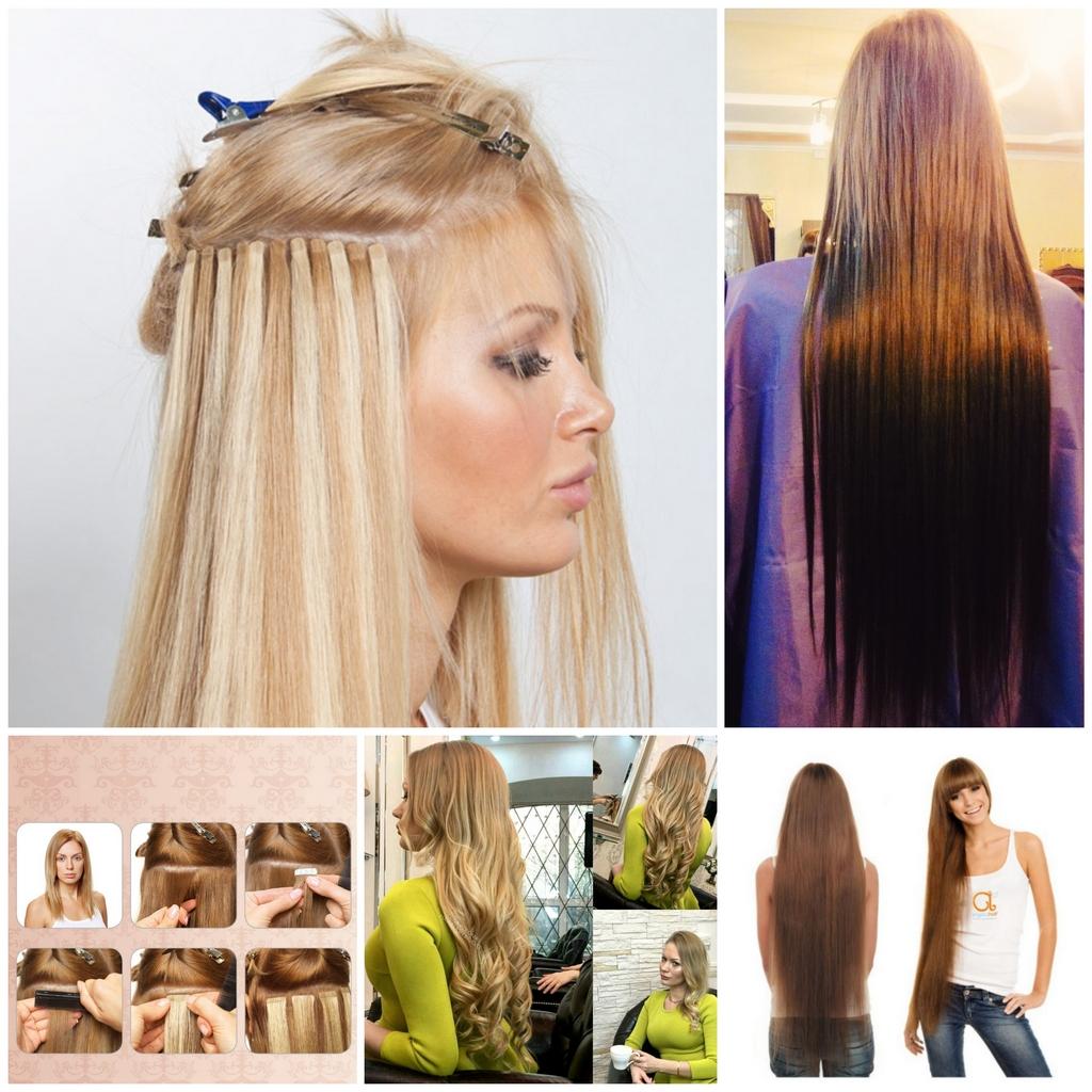 Ленточное наращивание волос - плюсы и минусы