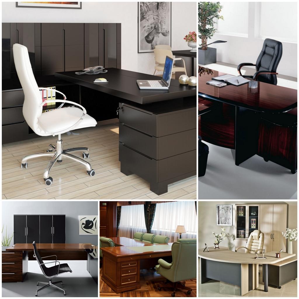 Мебель для кабинета руководителя как главная составляющая интерьера