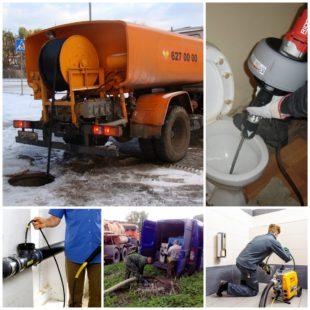 Профессиональная чистка канализации: вызов мастера