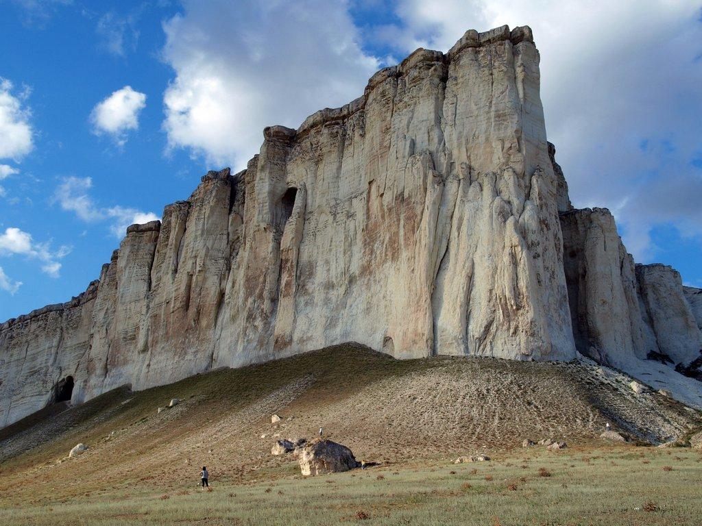Белая скала (или Ак Кая)