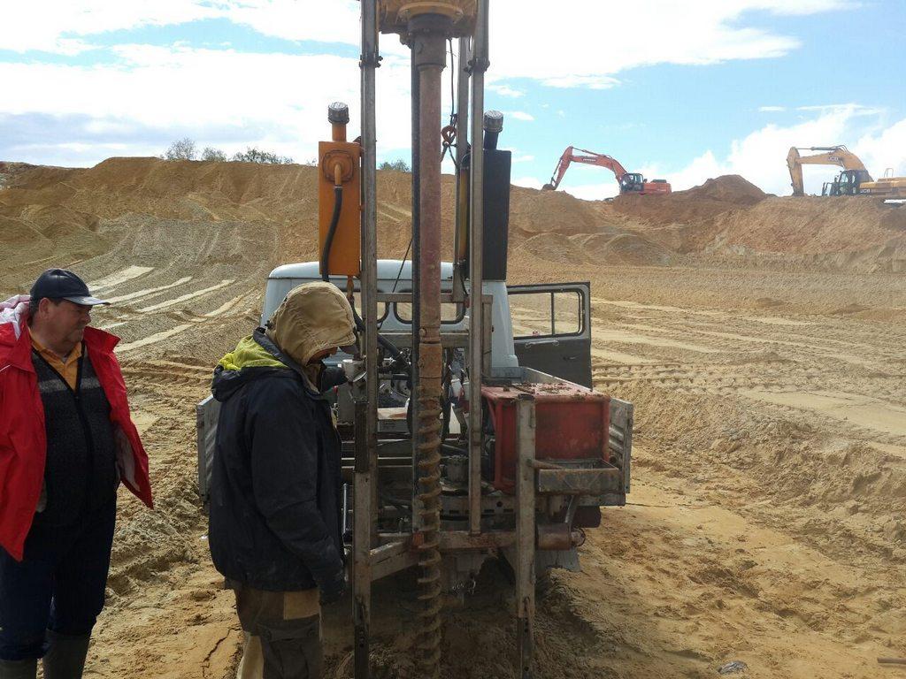 Геологическая разведка участка под фундамент