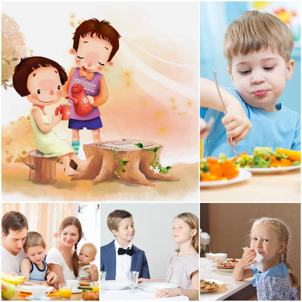 Как привить ребёнку хорошие манеры
