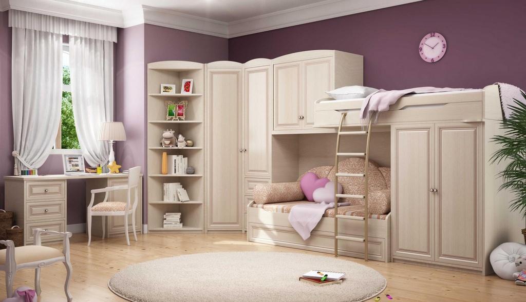 Какой должна быть мебель для детской
