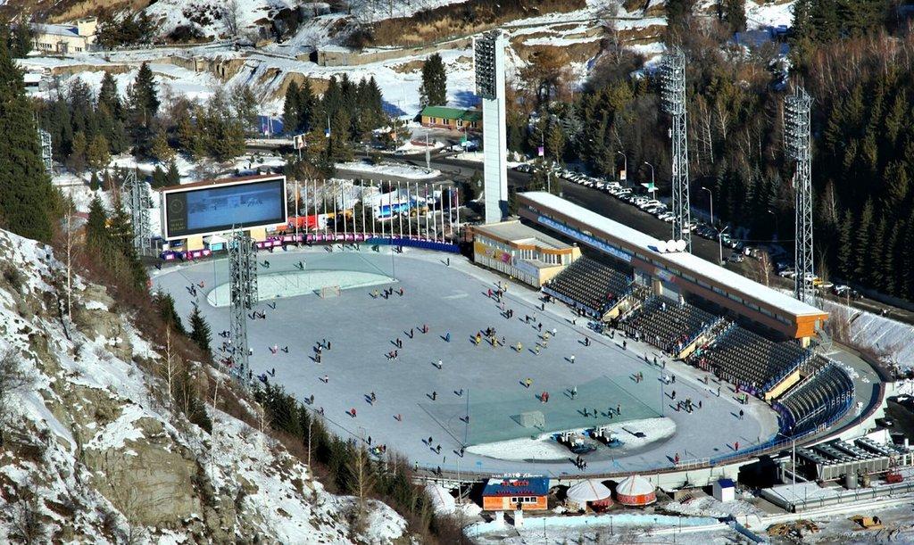 Каток Медео в Алматы