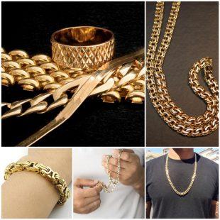 Мужские золотые цепочки - красивый аксессуар и отличный подарок