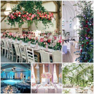 Оформление свадьбы - какие выбрать варианты декора