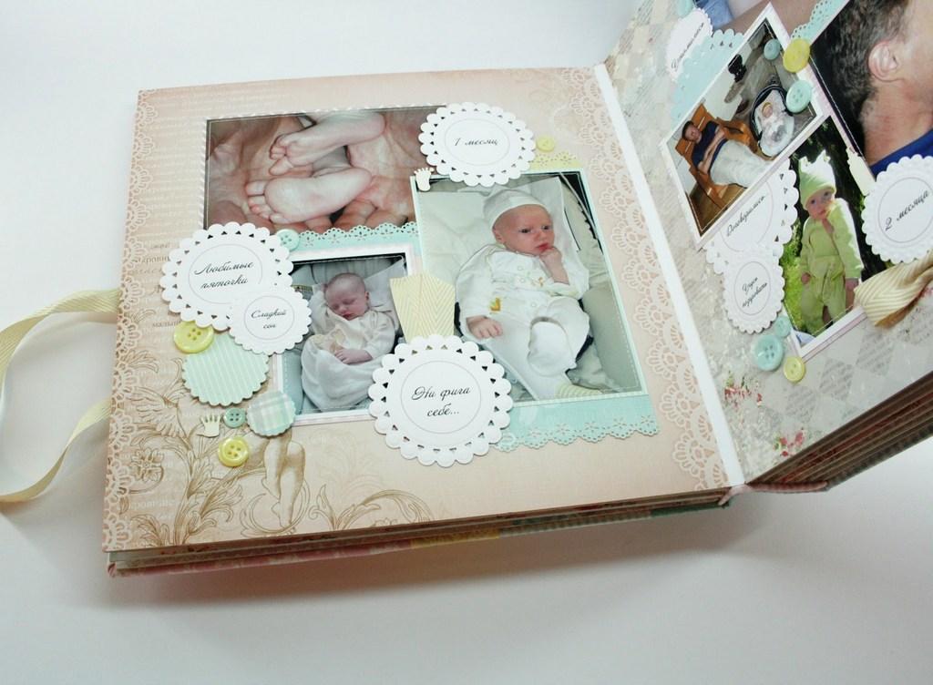 Современные детские фотоальбомы