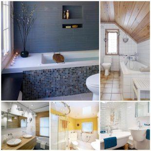 Ванная комната - как сделать ванную удобной и практичной?
