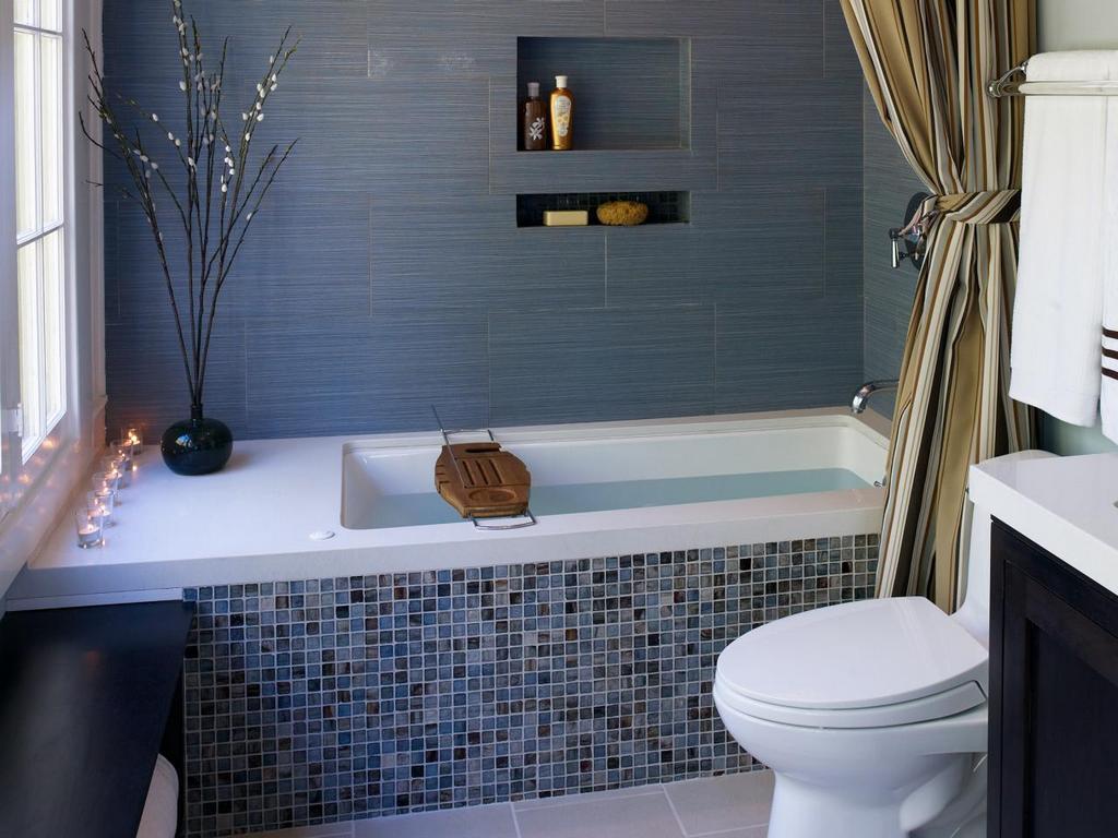 Варианты оборудования ванной комнаты