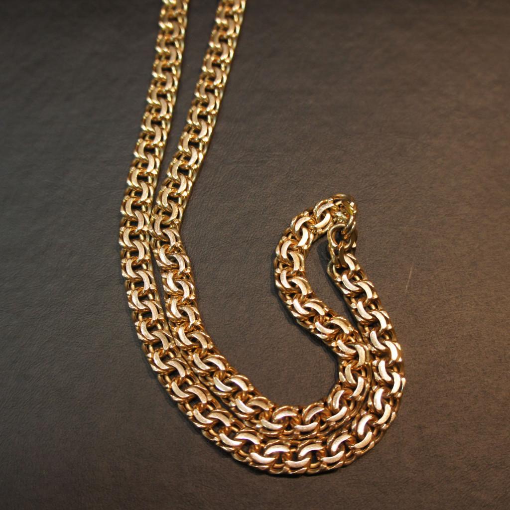 Золотая цепь – тонкая работа