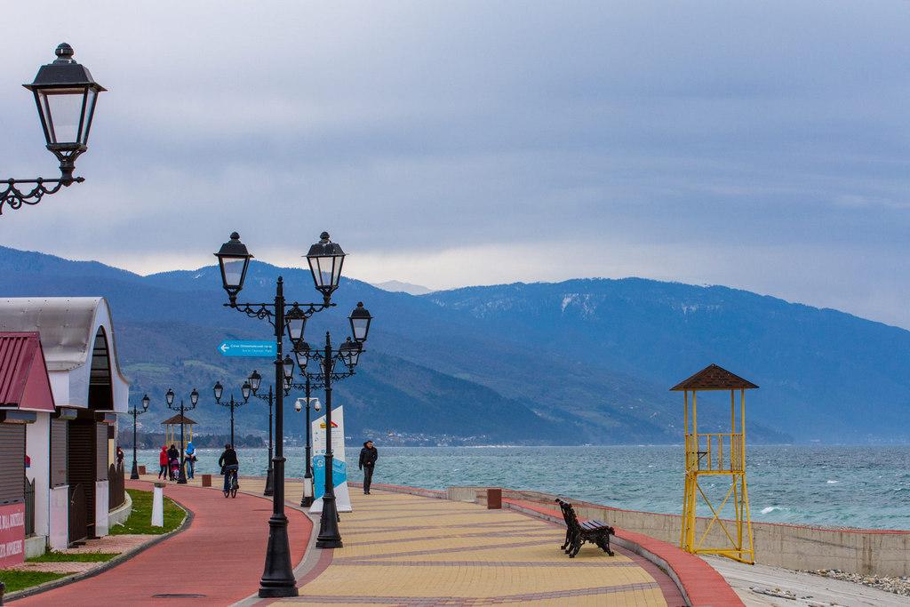 Адлер - город на берегу Черного моря