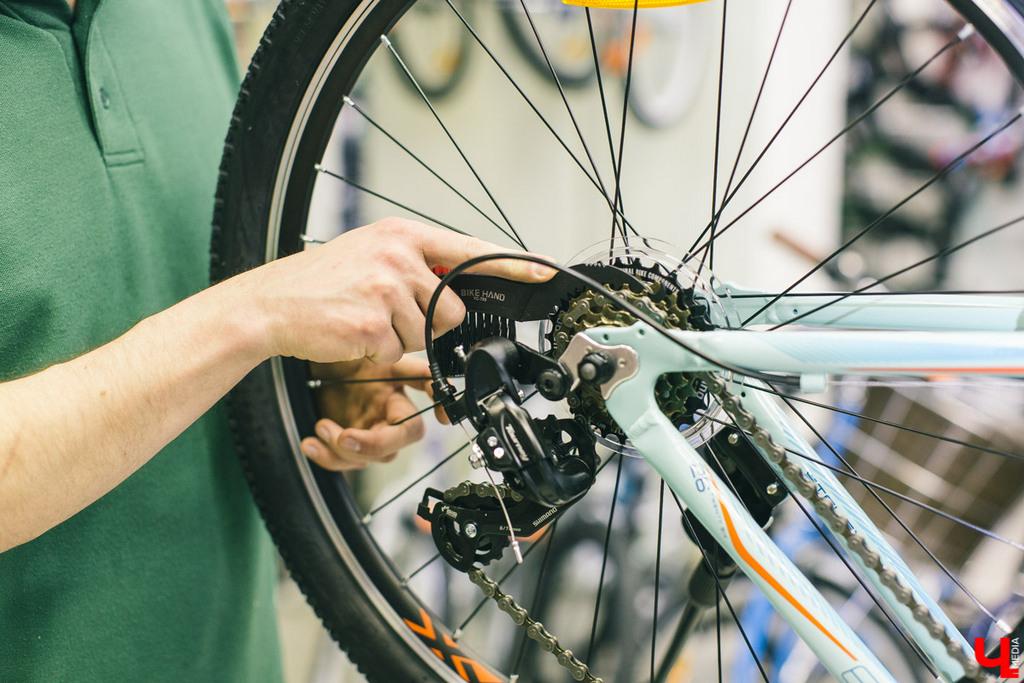 Чистим прочие детали велосипеда