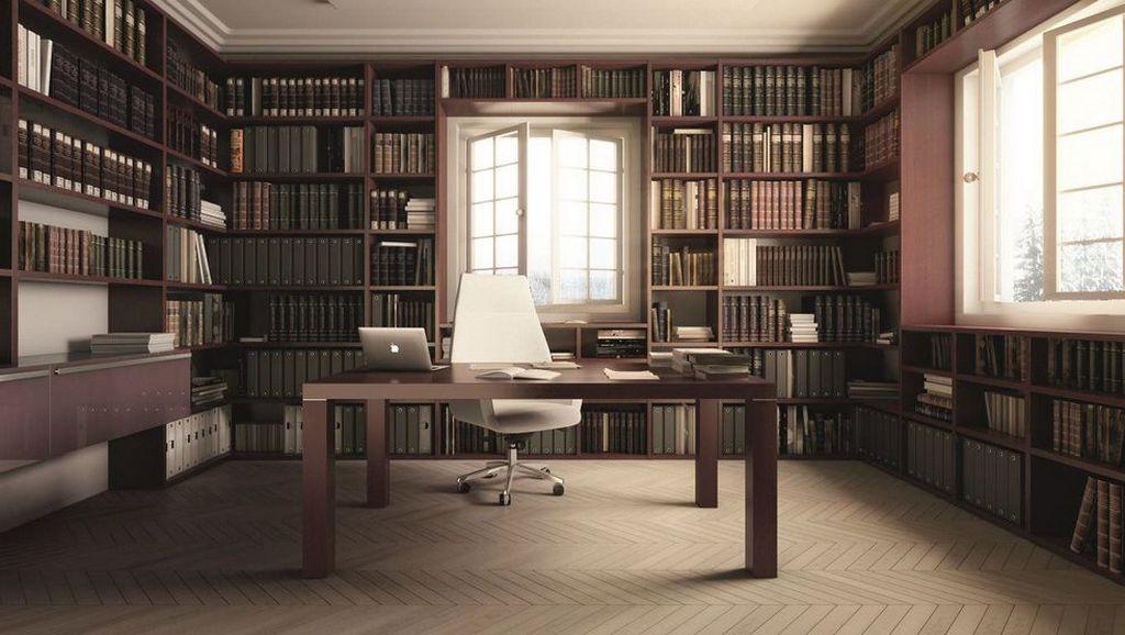 Для чего нужна мебель для кабинет-библиотеки