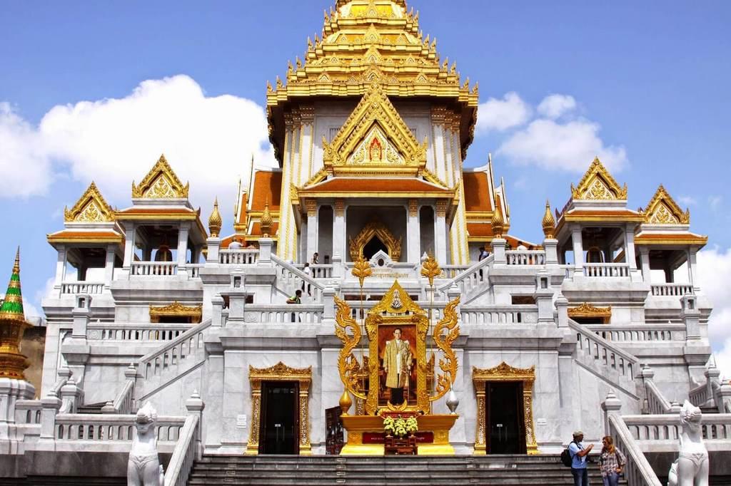 Как добраться в Храм Золотого Будды в Бангкоке