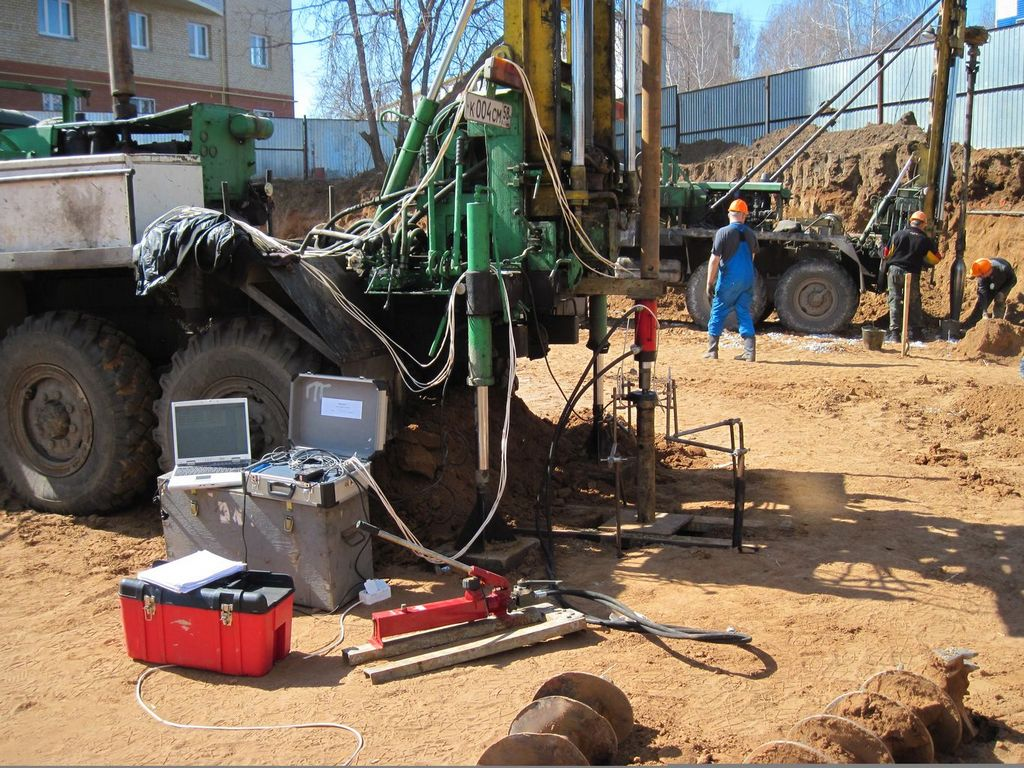 Как проводятся инженерно-геологические изыскания