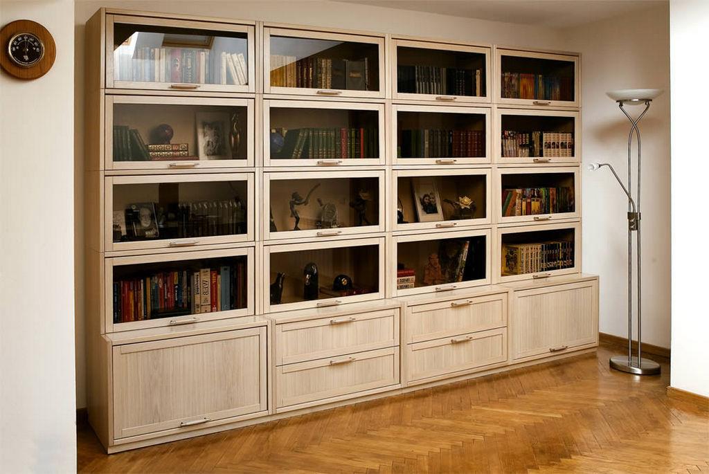 Модульная современная мебель для библиотек