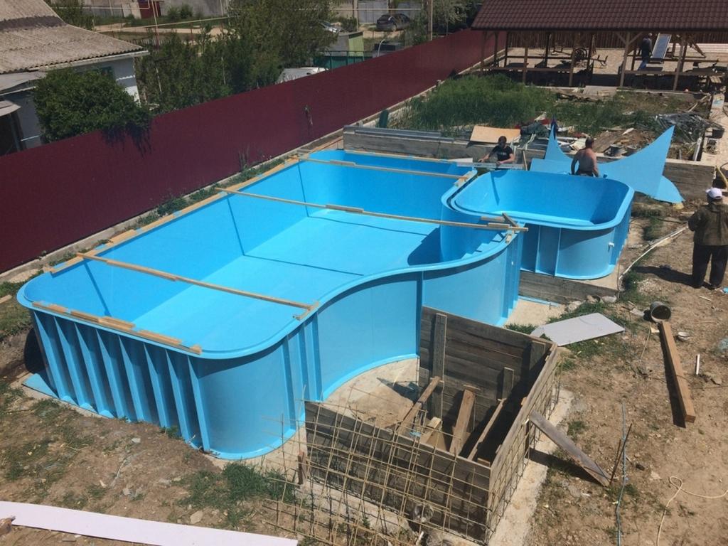Плюсы изготовления бассейнов из полипропилена