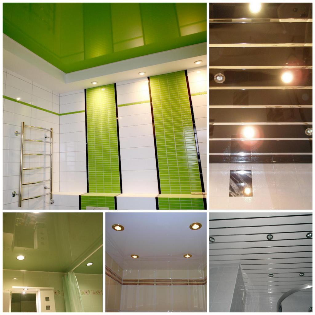 Потолок в ванной комнате описание, характеристика, критерии выбора