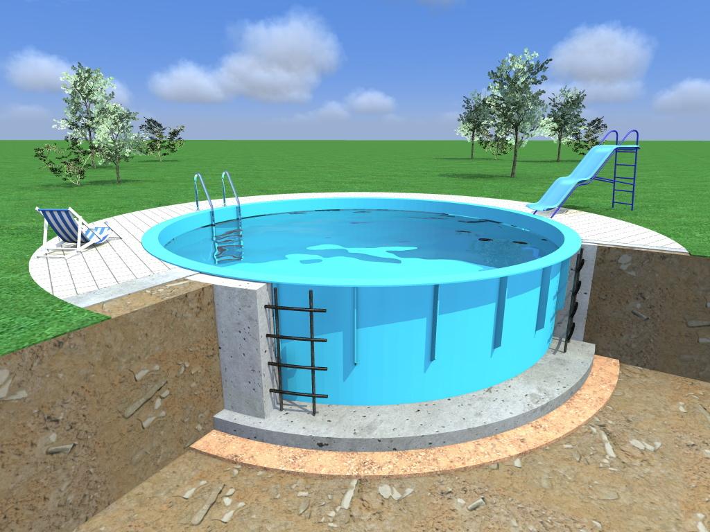 С чего начать строительство бассейна из полипропилена