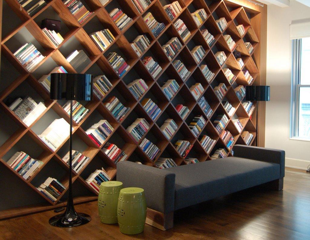 Современная мебель для библиотек