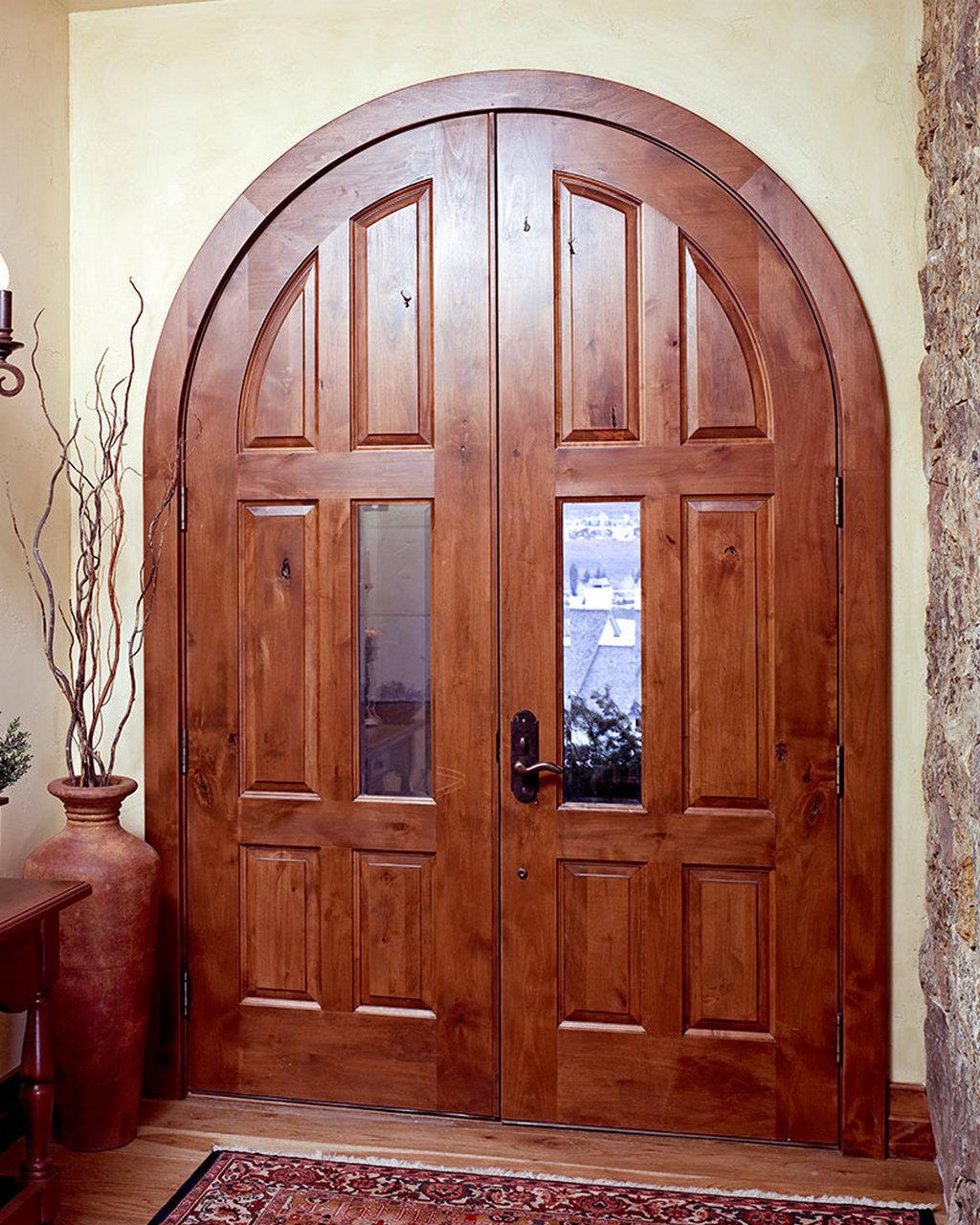 Арочные двери в современном дизайне интерьеров