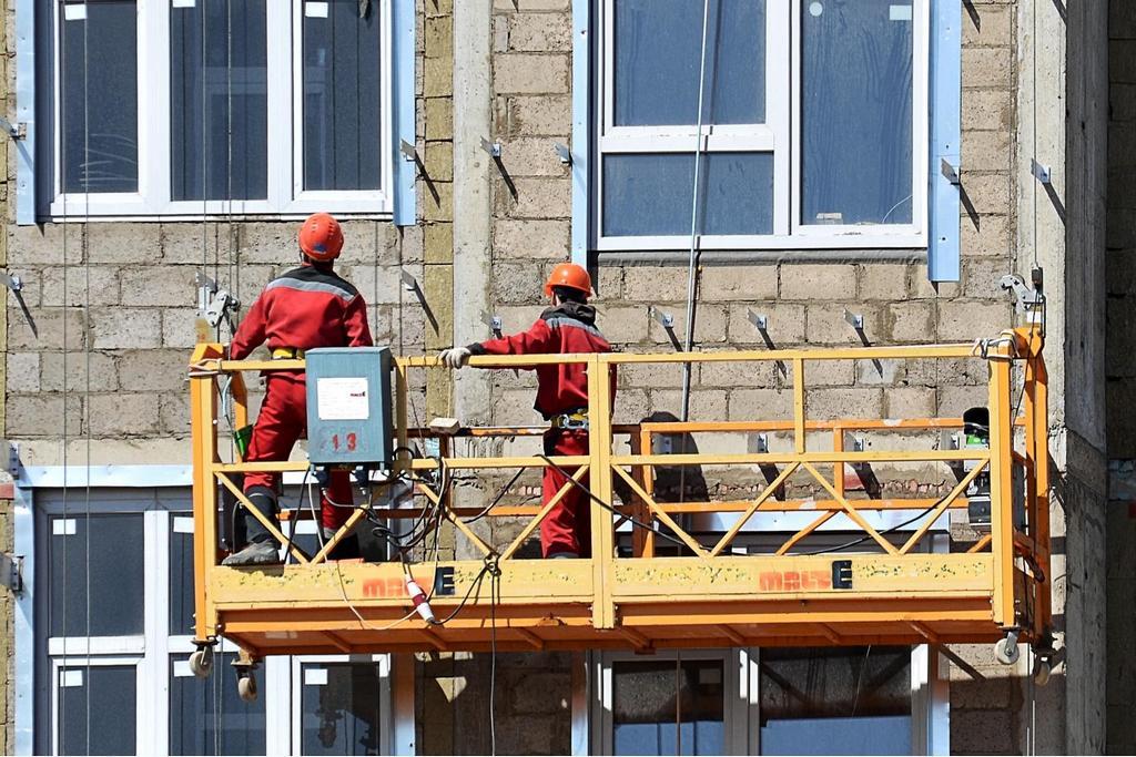 Где заказывать выполнение фасадных работ