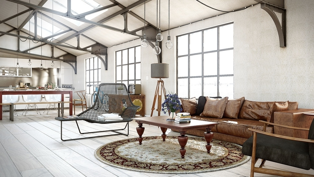Как оформить комнату в стиле техно