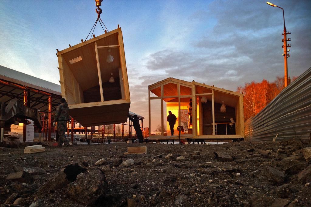 Каковы основные типы конструкции блочно модульных зданий