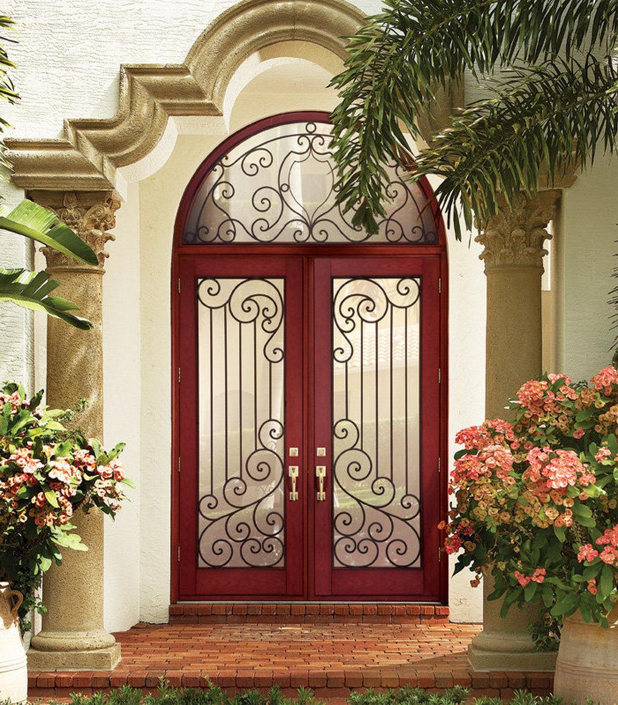 Материал изготовления арочных дверей