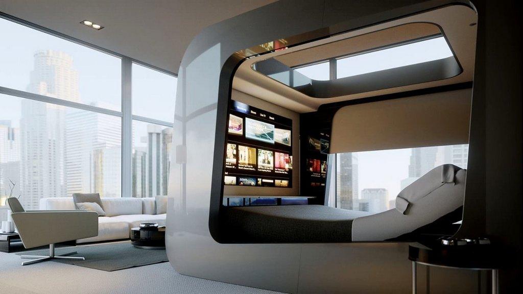 Мебель для стиля техно в интерьере