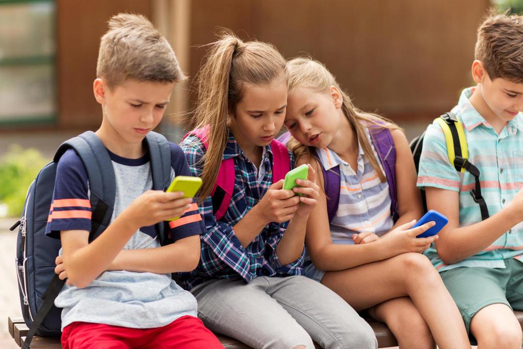Отрицательное влияние смартфона на ребёнка