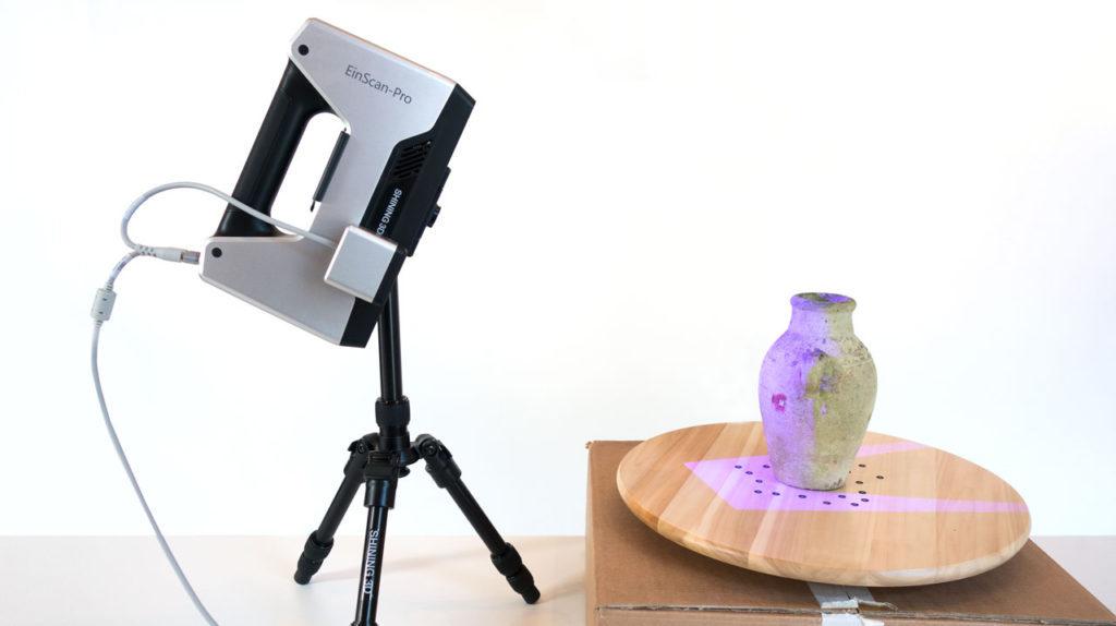Преимущества компактного 3d сканера