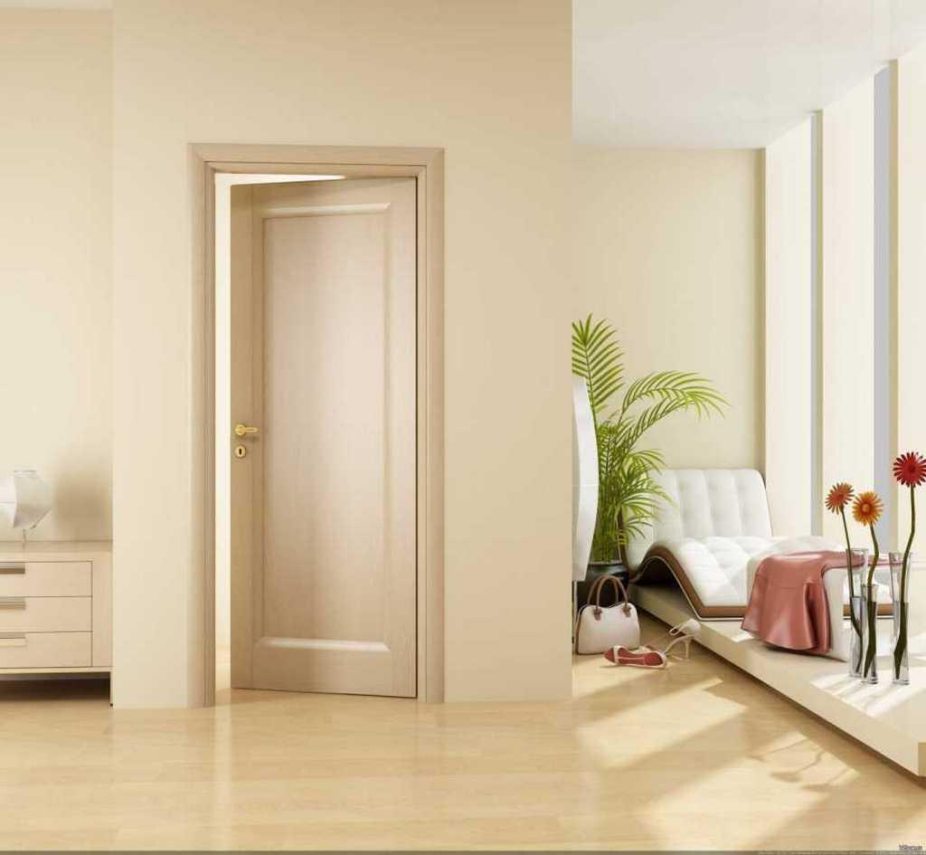 Привлекательный внешний вид дверей из сосны