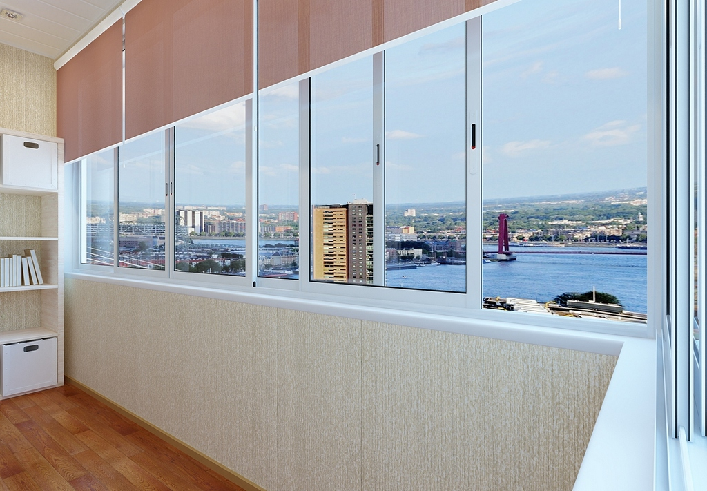 Ремонт балконов и лоджий в условиях максимальной экономии