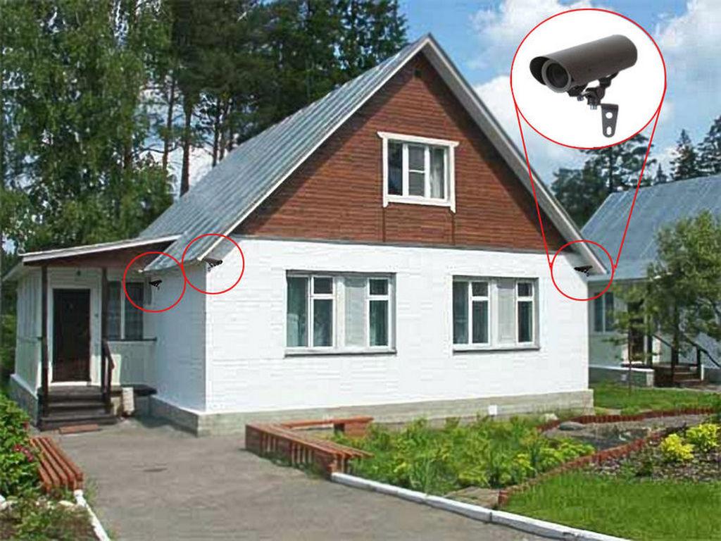 Зачем нужна система видеонаблюдения для частного дома