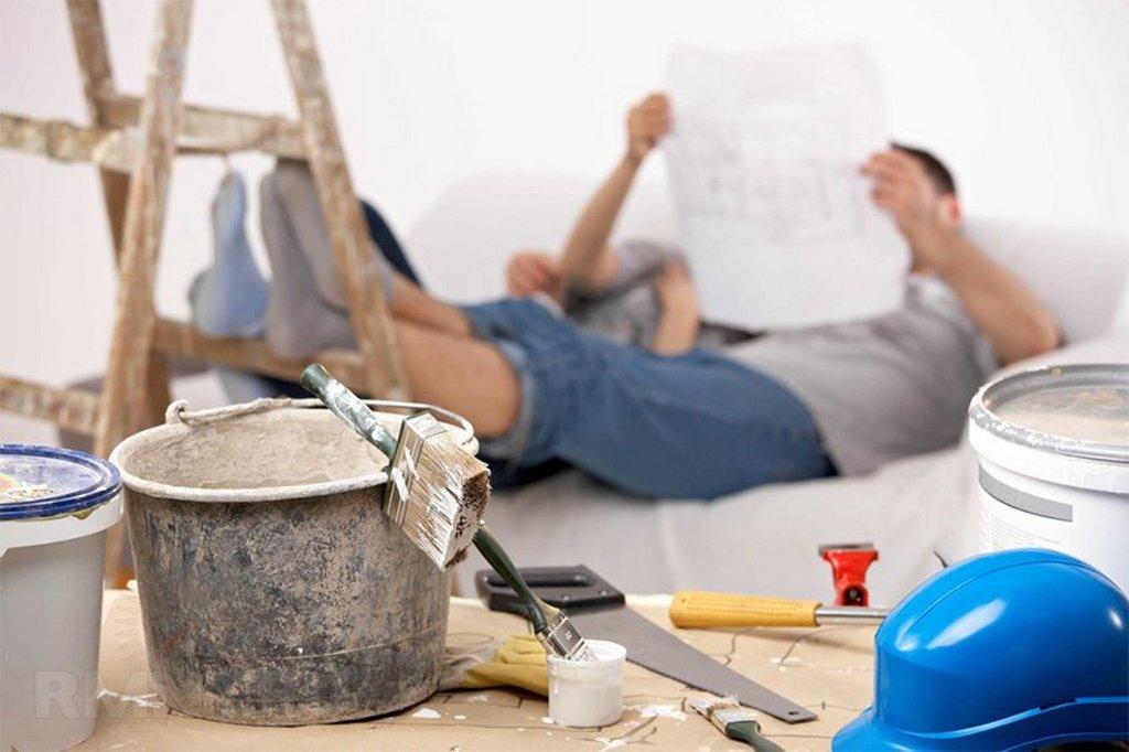 Этапы капитального ремонта