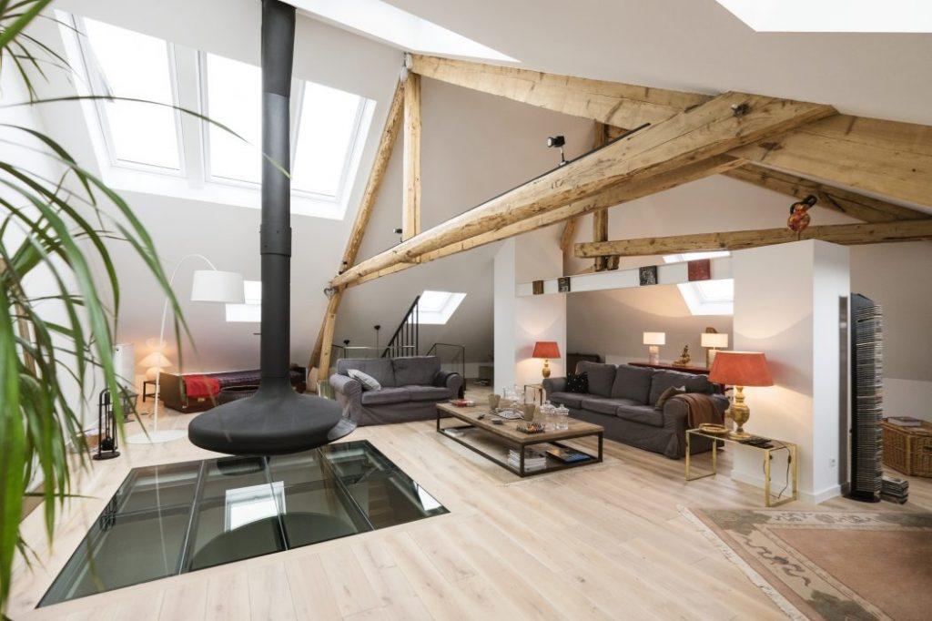 Характеристики мансардных квартир