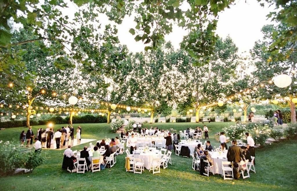 Организация свадьбы в загородном доме