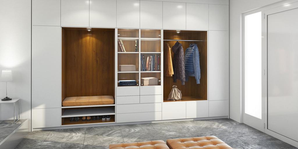 Практические советы по комплектации встроенного шкафа