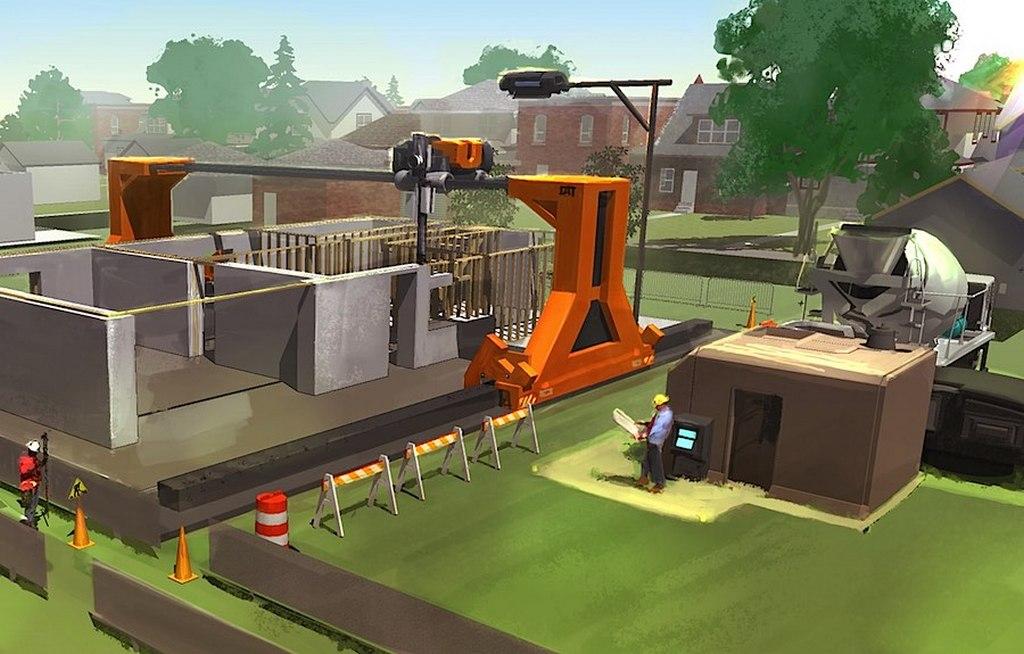Применение 3D принтеров для строительства и оформления интерьеров