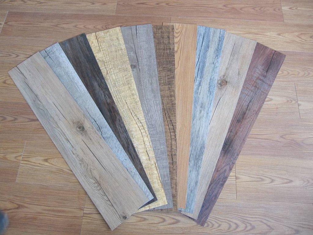 Строение покрытия кварцвиниловой плитки