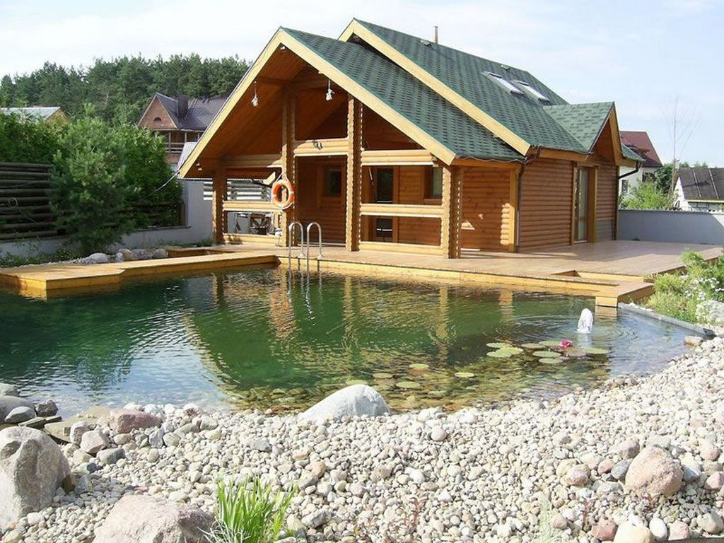 Строительство бассейна в саду - что нужно знать перед началом строительства