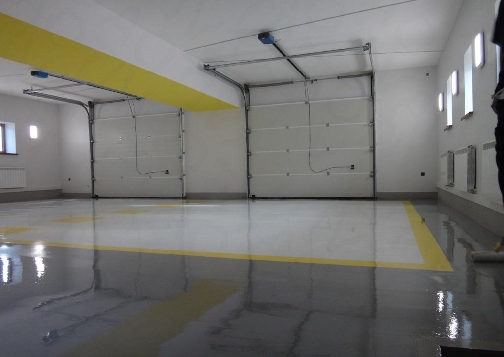 Выбор материала для напольного покрытия в гараже