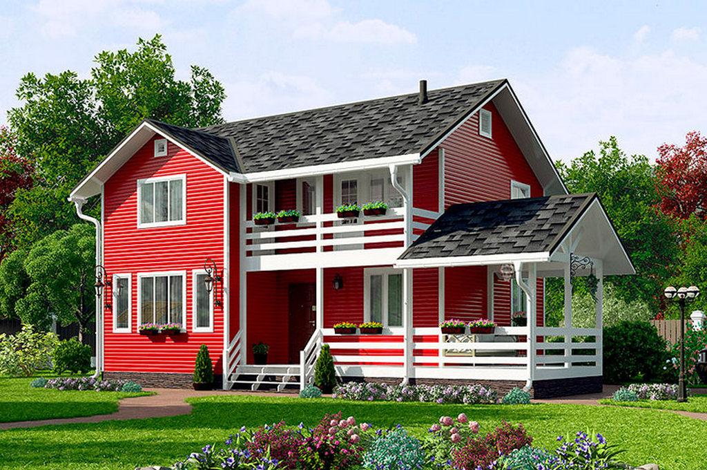 Зачем нужна покраска деревянного дома снаружи