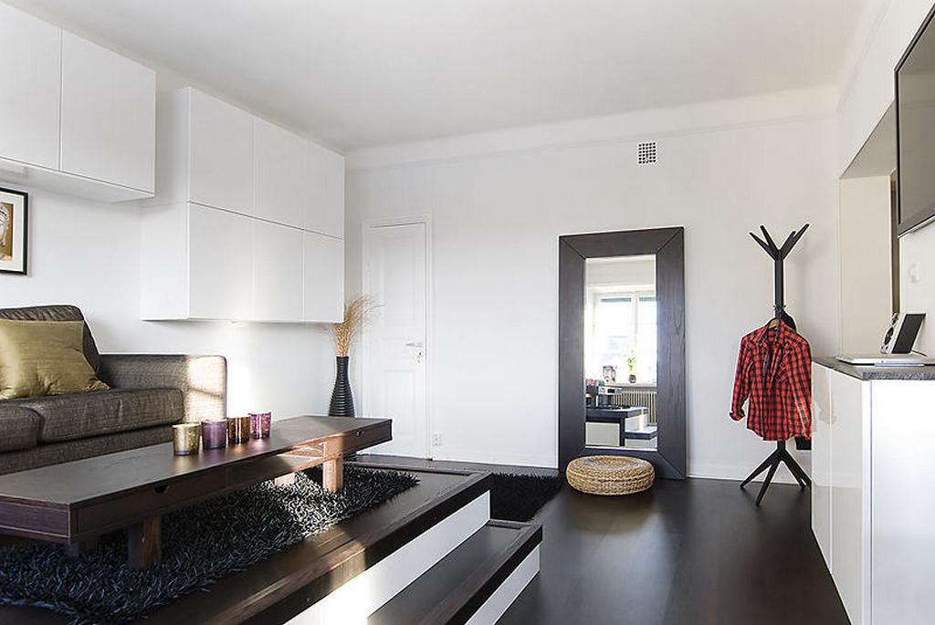 Зонирование пространства квартир-студий